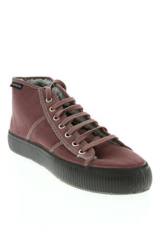 victoria chaussures femme de couleur violet