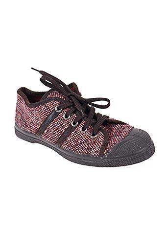 bensimon chaussures femme de couleur rouge