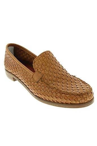 bisous confiture chaussures femme de couleur marron