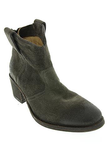 atelier voisin chaussures femme de couleur gris