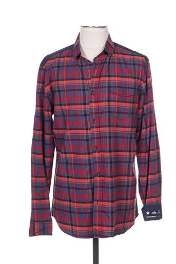 1303753 Couleur Modz Pas Chemises Longues En Manches Tibet Cher Bleu Soldes Bleu00 De BsrCxQthdo