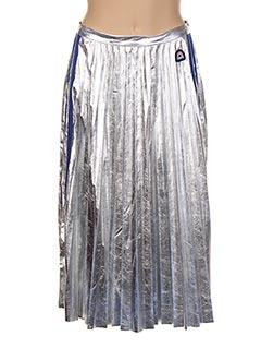 Jupe mi-longue gris CAMPS UNITED pour femme