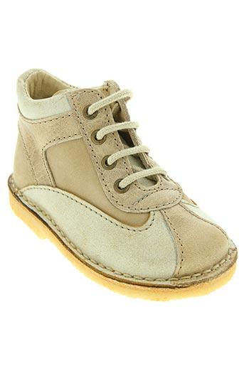 netos chaussures garçon de couleur beige