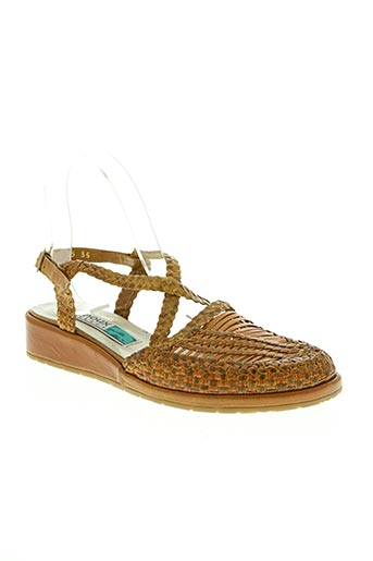 Sandales/Nu pieds beige ARNOUX pour femme