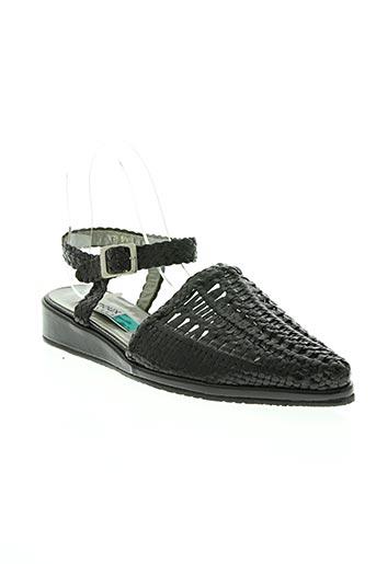 Sandales/Nu pieds noir ARNOUX pour femme