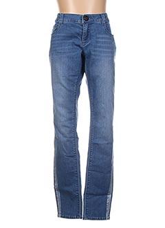 Jeans skinny bleu BECKARO pour fille