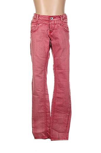 Jeans coupe slim rose GARCIA pour fille