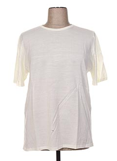 Pull col rond beige FIL & MAILLE pour femme