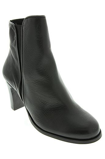 fosco chaussures femme de couleur noir