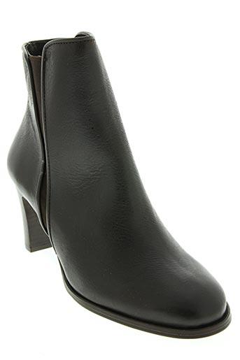 fosco chaussures femme de couleur marron