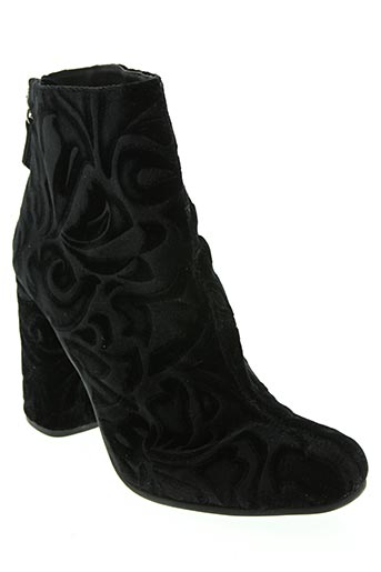 Bottines/Boots noir ELYSESS pour femme