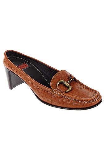 goffredo fantini chaussures femme de couleur marron