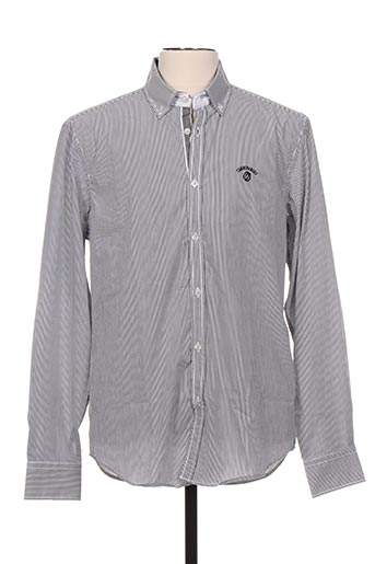 Chemise manches longues gris CAMBE pour homme