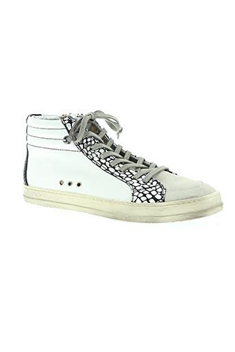 p448 chaussures femme de couleur blanc