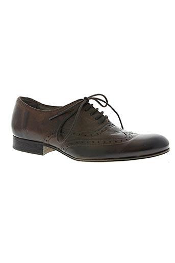 reqins chaussures homme de couleur marron