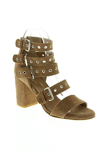 mally chaussures femme de couleur marron