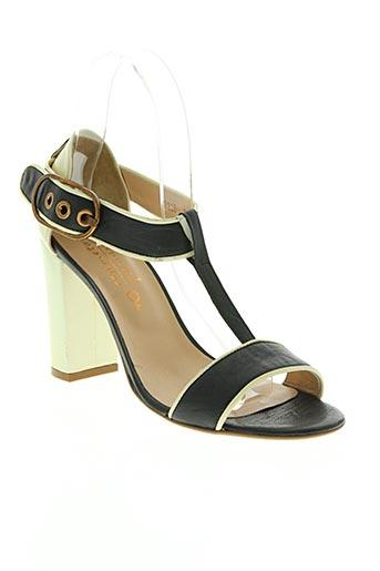 rosemetal chaussures femme de couleur jaune