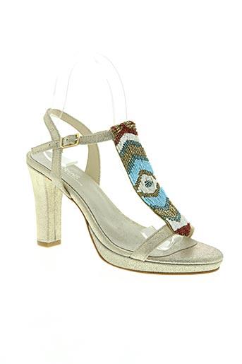 reqins chaussures femme de couleur beige
