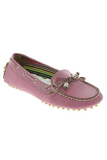confort chaussures femme de couleur rose