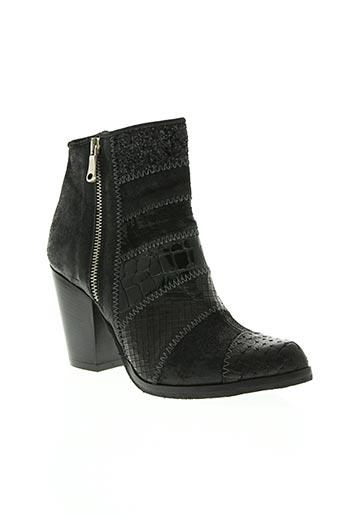 miu miu chaussures femme de couleur noir