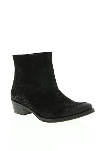 wanted salomé chaussures femme de couleur noir