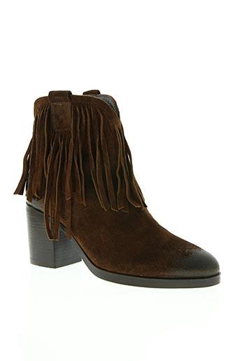 jfk chaussures femme de couleur marron