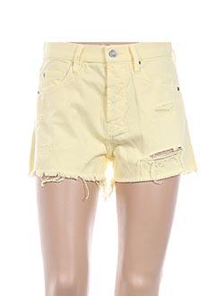 Produit-Shorts / Bermudas-Femme-MAISON SCOTCH