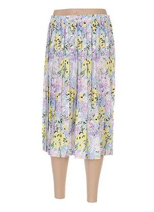 Jupe mi-longue violet CHARLES HUTEX pour femme