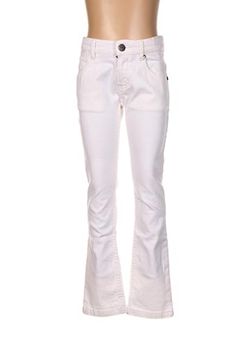 Jeans coupe droite beige MARESE pour fille