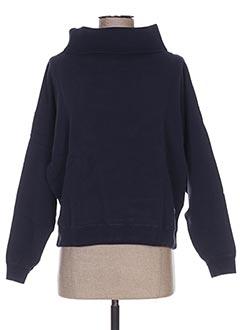 Sweat-shirt bleu FRENCH DISORDER pour femme