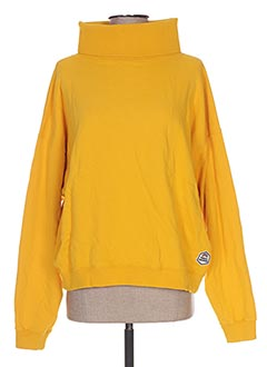 Sweat-shirt jaune FRENCH DISORDER pour femme