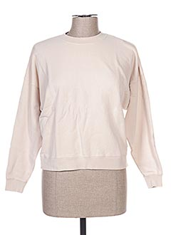 Sweat-shirt beige FRENCH DISORDER pour femme