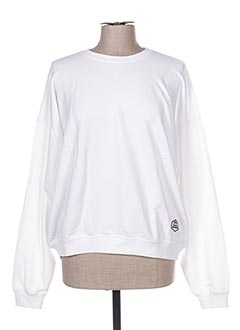Sweat-shirt blanc FRENCH DISORDER pour femme
