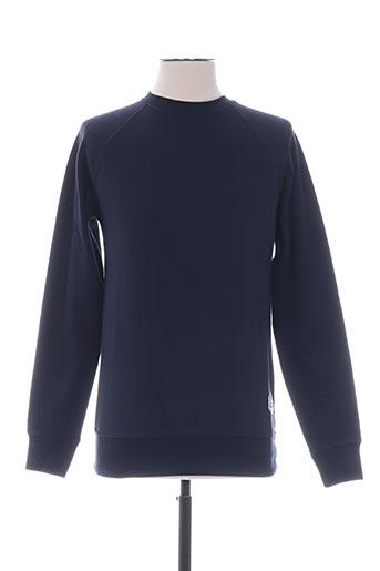 Sweat-shirt bleu FRENCH DISORDER pour homme