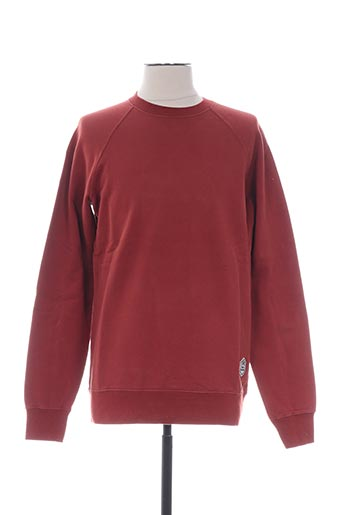 Sweat-shirt orange FRENCH DISORDER pour homme
