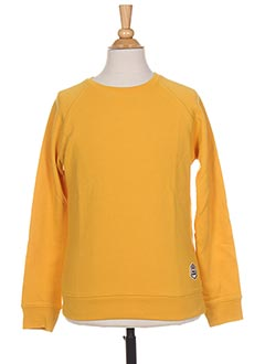 Sweat-shirt jaune FRENCH DISORDER pour garçon