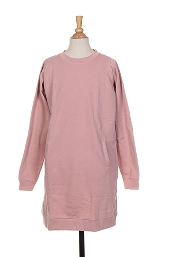 Robe mi-longue rose FRENCH DISORDER pour fille