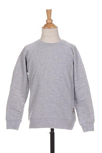 Sweat-shirt gris FRENCH DISORDER pour garçon