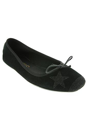hop's... chaussures femme de couleur noir