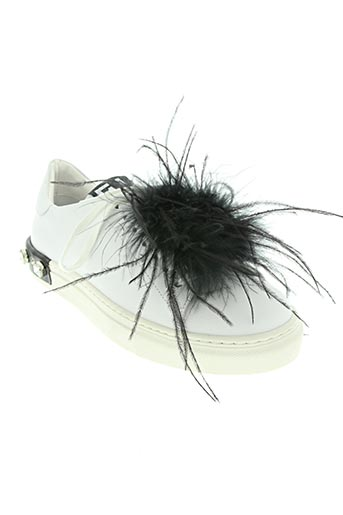 gio+ chaussures femme de couleur blanc