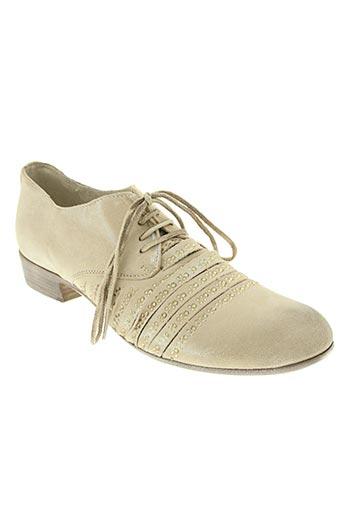 metisse chaussures femme de couleur beige