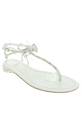 ioannis chaussures femme de couleur blanc