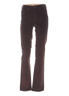 Pantalon casual marron GANT pour femme