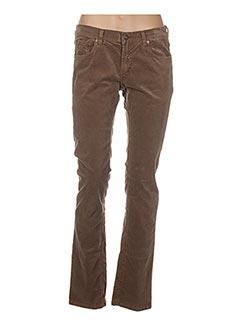 Pantalon casual beige GANT pour femme