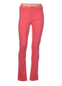 Pantalon casual rose GANT pour femme