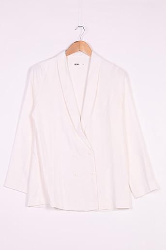 Veste chic / Blazer blanc REIKO pour femme