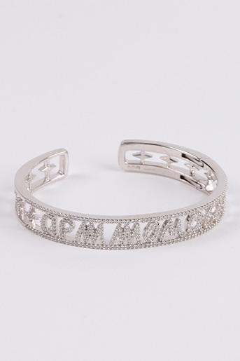 Bracelet gris APM MONACO pour femme
