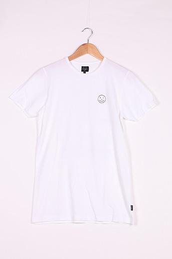 T-shirt manches courtes blanc MONSIEUR CEIZER pour femme