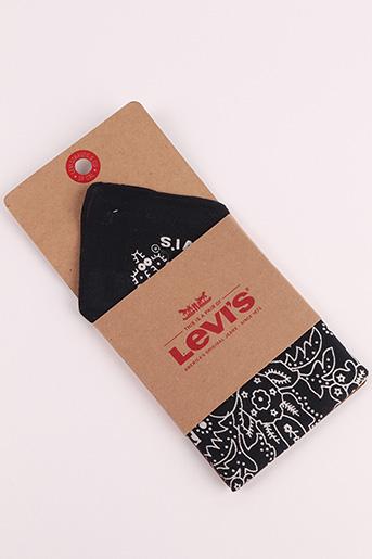 Foulard noir LEVIS pour femme