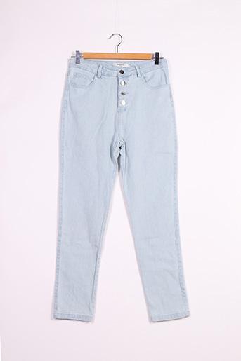 Jeans coupe slim bleu DAPHNEA pour femme